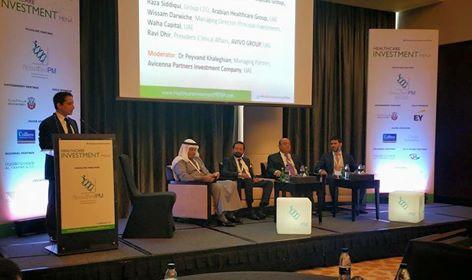 Dr. Raza Siddiqui Healthcare Investment Forum in Dubai