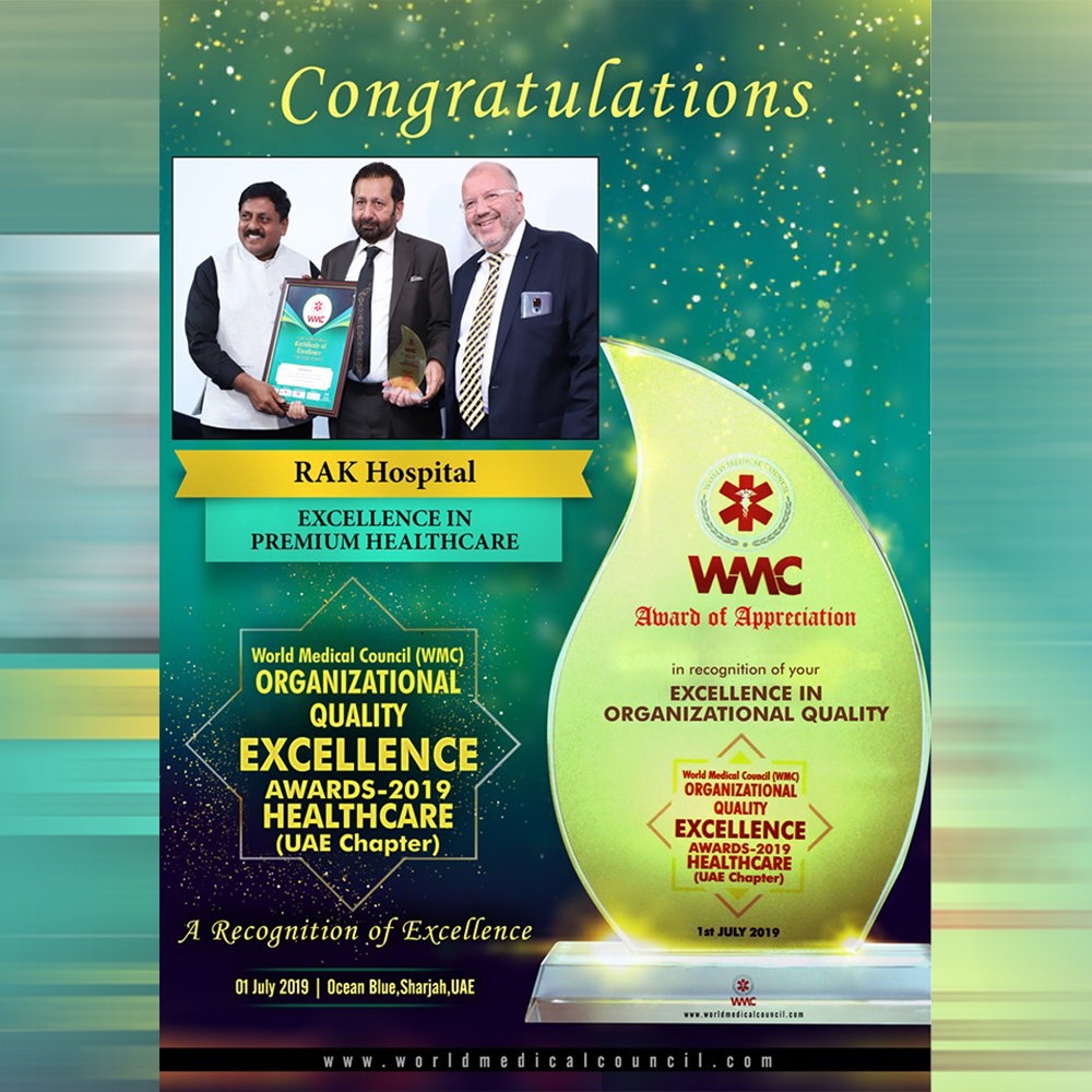WMC Organizational Quality Excellence Awards 2019